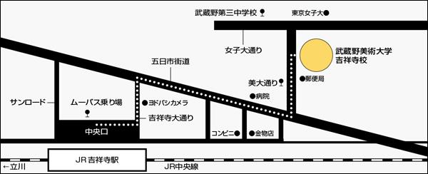 吉祥寺キャンパス地図