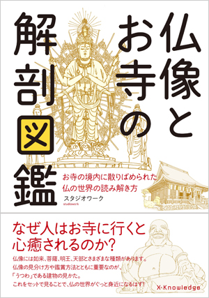 「仏像とお寺の解剖図鑑」